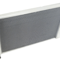 PPM2111103 Aluminum Racing Radiator (Ford)-0